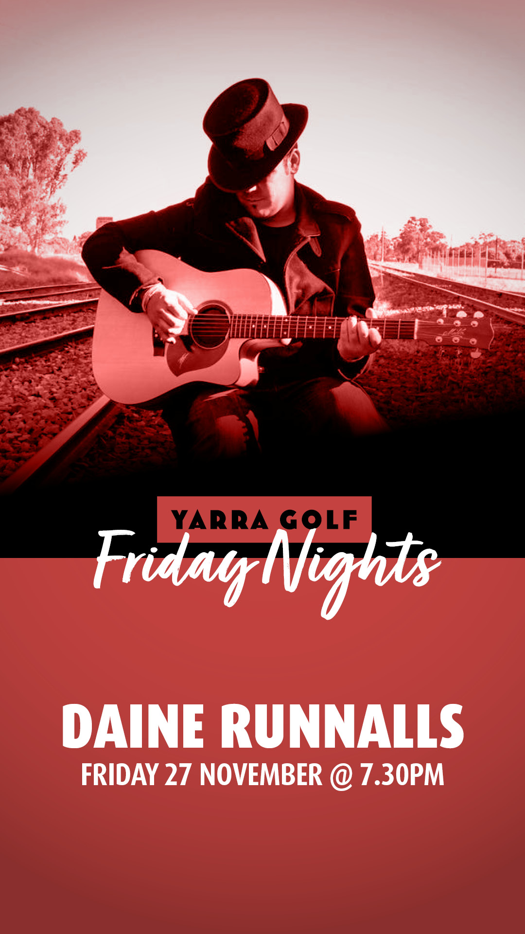 Daine Runnalls: Yarra Golf Friday Nights
