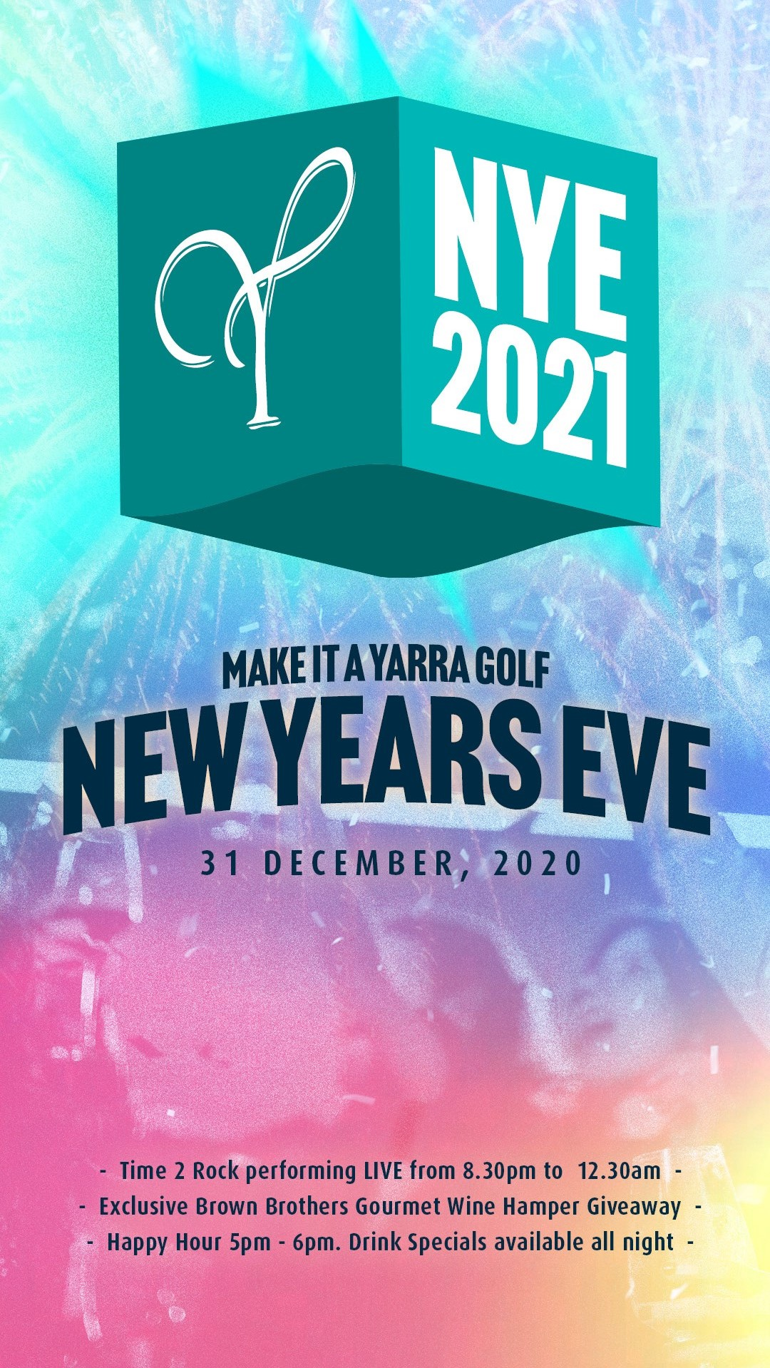 Bring in the new year at Yarra Golf!