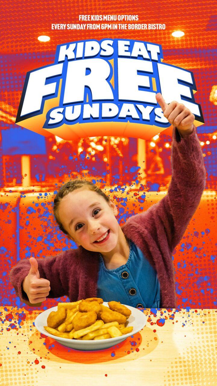 Kids Eat Free Sundays!