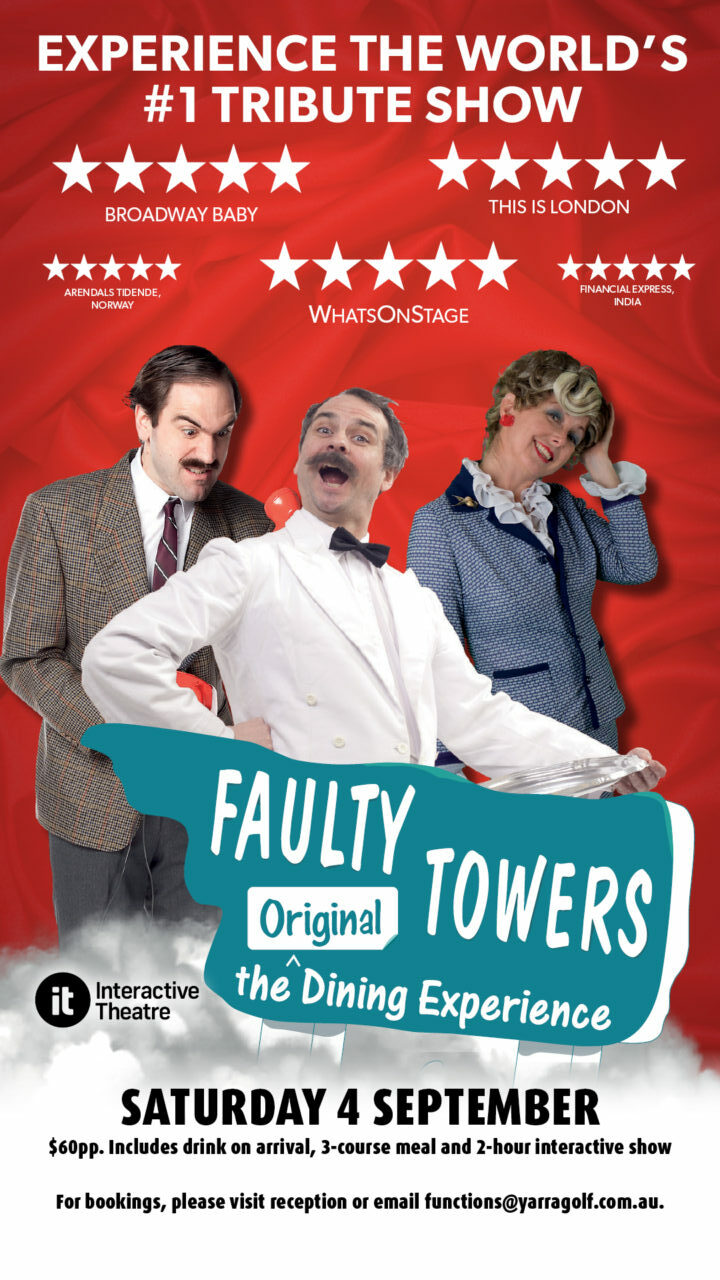 Faulty Towers – The Original Dining Experience